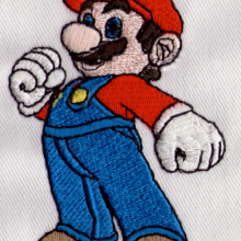 Embroidered Super Mario Bothers Character for Nintendo